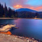 Озеро Синевир,закат