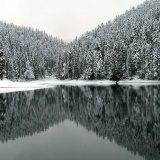 Озеро Синевир ,зима