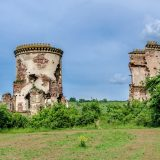 Chervonograd ruins of the castle