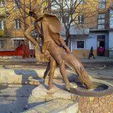 Пам'ятник-фонтан барон Мюнхгаузен