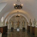 Збаражский замок,выставка скульптур