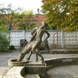 Памятник-фонтан барону Мюнхгаузену
