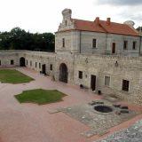 Збаражский замок,двор