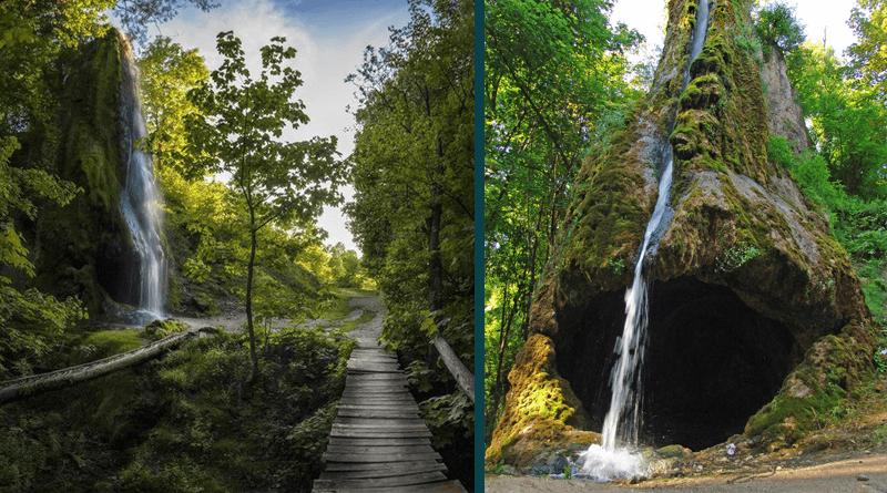 Водопад в с. Малиевцы