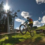 Bike park in Bukovel
