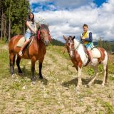 Horse riding in Bukovel
