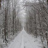 Тунель кохання взимку