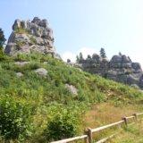 Урицькі скелі. Тустань
