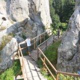 Тустань скалы на смотровой площадки