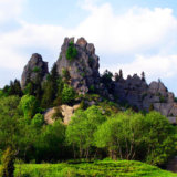 Урицкие-скалы.Летом