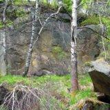 причудливее скалы во время восхождения на г  Ключ
