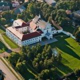 Летичівський замок з висоти