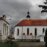Староконстантиновский замок колокольня и церковь Св. Троицы