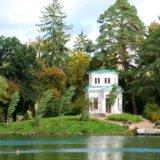 Island of love. Arboretum Sofiyivka