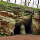 Grotto of Calypso. Arboretum Sofiyivka
