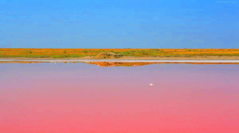"""Лемурийское озеро или """"Мертвое море"""""""
