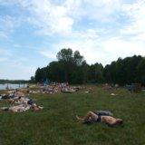 Lake Svityaz, the beach