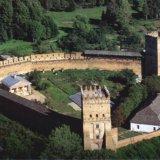 Луцкий замок с висоти