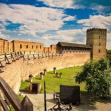 Lutsk castle or Lubart castle