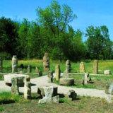 Остров Хортица,музей каменных изделий