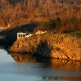 Khortitsa Island, arbor