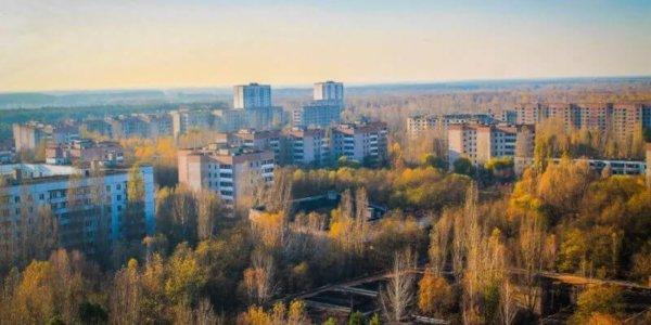 город Припять. Чернобыльская зона