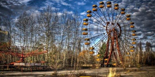 Припять.Чернобыльская зона отчуждения