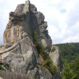 Uric rocks. Tustan