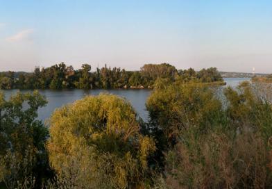 Остров Кодак в Днепре