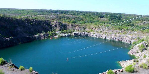 троллей Радоновое озеро