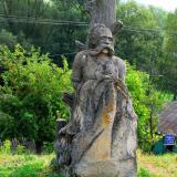 селоБуша скульптура казака