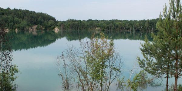 Затопленный Черепашинский карьер