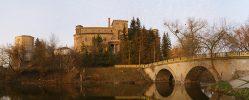 Дворец графа Ксидо,озеро