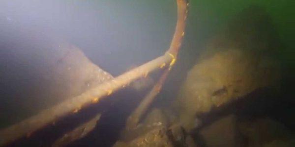 Малинский подводный музей,якорь