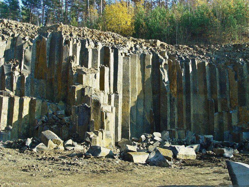 Базальтовые столбы | Путешествия по Украине