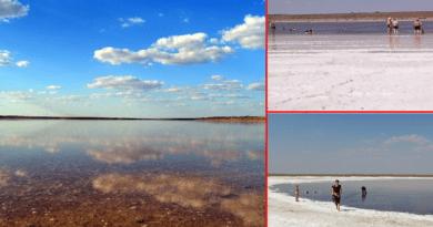 Грязе-сольове озеро Солонець-Тузли