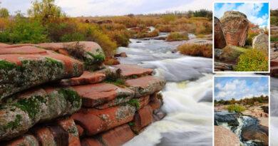 Tokovsky cascade waterfall