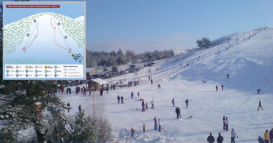 "Ski resort in Kharkov ""Alpine Valley"""
