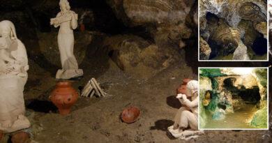 Verteba Cave. Ternopil region